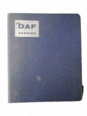 Daf 55 Spare part book Swedish/English